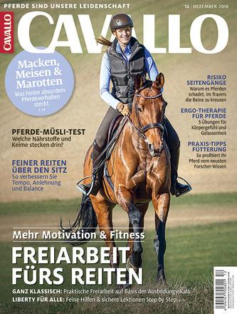 PFERGO Pferdeergotherapie - Ergotherapie für Pferde in der CAVALLO!