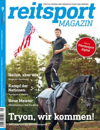 Reitsportmagazin: Das vestibuläre System beim Pferd - Hilfe bei Gleichgewichtsproblemen. Interview zur Pferdeergotherapie (Ergotherapie für Pferde)