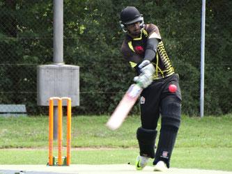 Aseem Dhawan (Berne) 80 runs
