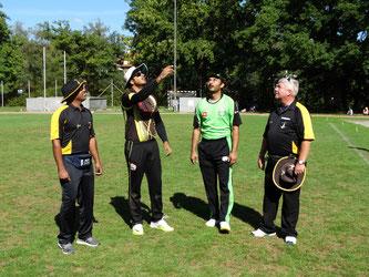 O Koilraj, A Dhawan (Berne), N Mahmood (SGCC), A Mackay