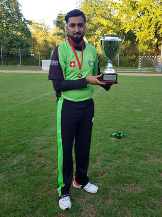 Mr Pickwick Twenty20 Man of the Match: Osama Mahmood (SGCC)
