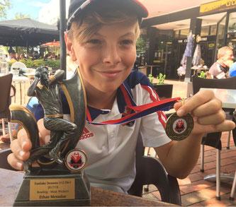 Ethan & best bowler award
