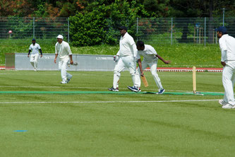 CSPL Cricket Match at Seepark, Freiburg