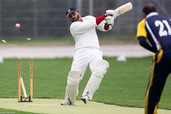 Action from the 2015 Pickwick Twenty20 final in Winterthur