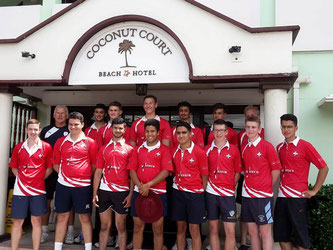 Swiss U19s in Barbados