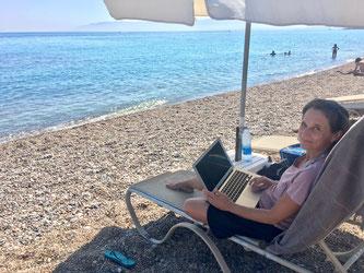 Feedback-Schreiben am Meer (mit WLAN)