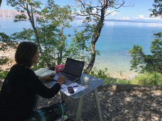 Mobiles Office in Kroatien 2018
