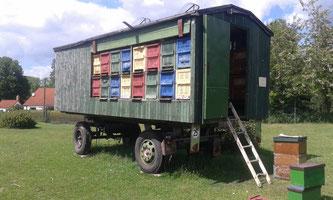 Unser Bienenwagen