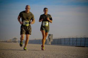 Bild: Couple Cardio, Laufen und fitness