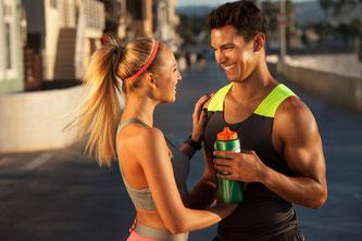 Bild: Sport Getränk, Couple