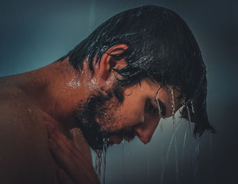 Bild: Kalte Dusche