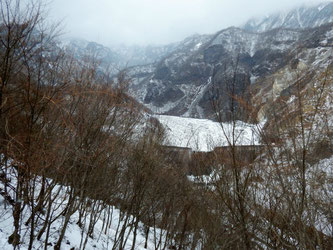 雲竜渓谷・日向ダム