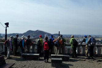 足利市織姫神社と両涯山