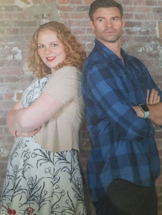 Daniel Gillies photo op Bloody Night Con