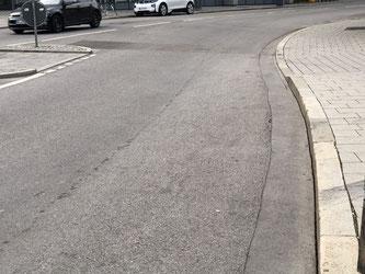 Übergang ohne Zebrastreifen - Foto: SPD