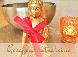 Geschenk Gutschein Klangkonzert im Yoga Room Chemnitz