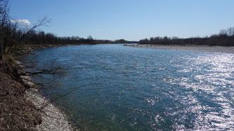 der Ticino-Fluß