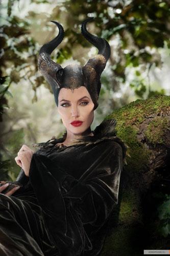 Анджелина Джоли в роли Малефисенты, (с) kinopoisk.ru