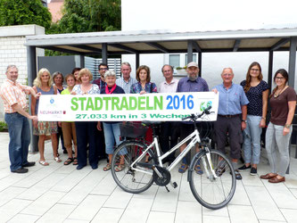 Im letzten Jahr sind die Stadtradler in Neumarkt über 27.000 km geradelt. (Archivfoto – Stadt Neumarkt)