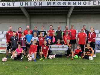 Die U10-Kinder der Union Meggenhofen setzten die Spielformen ihrer Trainer mit Bravour um. Foto: privat