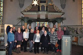 Kirchenvorstand der Martin Luther Gemeinde Bad Arolsen.