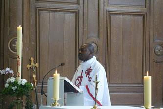 Le Père Joseph Mabibi Bukaka va rejoindre la Thiérache.