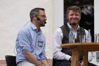 Stephan Brust und Richard Haxel