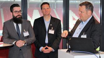Speaker: Julian Reitz, Elmar Szych und Stefan Böhler