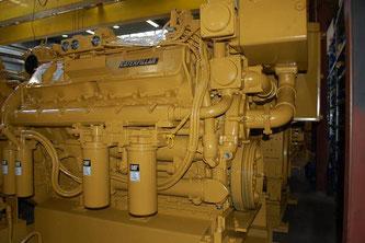 Moteur marin CAT 3412 DITA - Belgique