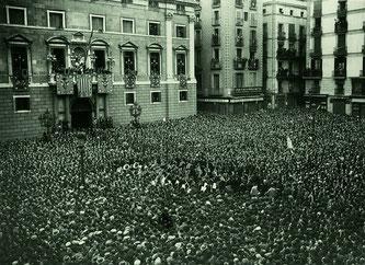 Провозглашение Каталонской Республики