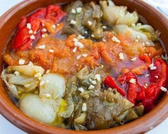 Каталонская кухня - закуски: эскаливада