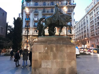 Скульптуры Барселоны. Монумент Рамону Беренгеру Великому