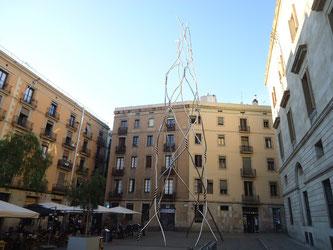 Уличная скульптура Барселоны - Посвящение кастельерам