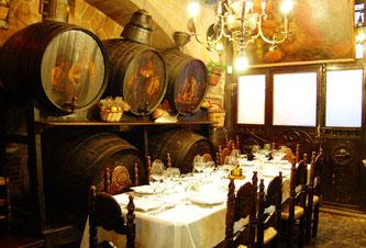 Хорошие исторические рестораны Барселоны: Los Caracoles