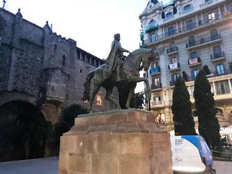 Скульптуры Барселоны. Памятник Рамону Беренгеру Великому