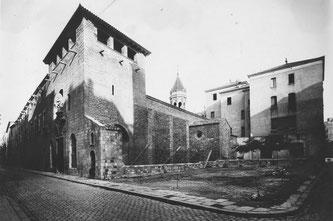 Старая больница Святого Креста в Барселоне