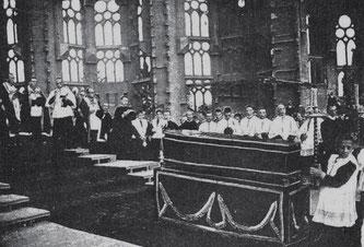 Похороны Антонио Гауди 1926