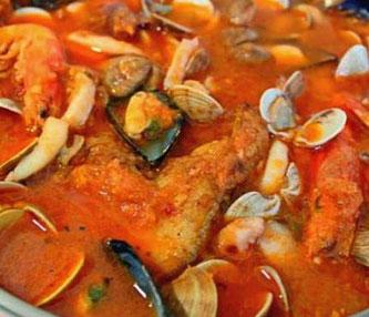 Блюда каталонской кухни. Suquet de Peix