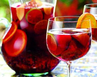 Прохладительные напитки Испании - сангрия