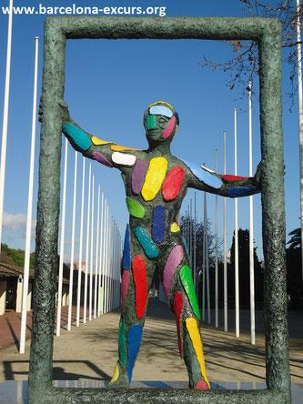 скульптура марк барселона