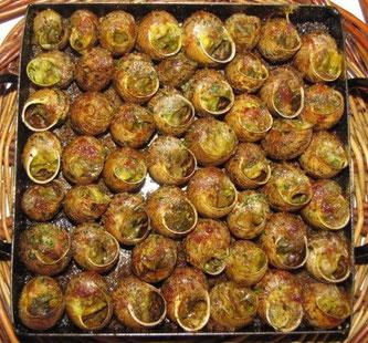 Национальная кухня Каталонии. Улитки
