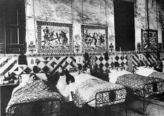 Кровать, на которой умирал Антонио Гауди