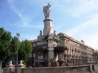 Уличная скульптура Барселоны. Каталонский гений