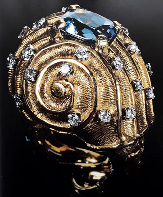 Ювелирные украшения Сальвадора Дали. Медленный перстень