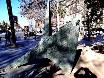 Воспоминание о море. Уличная скульптура.