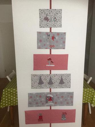 Weihnachtsbaum, Stoff, Hachenburg, Winter, Einzig-n-Artig