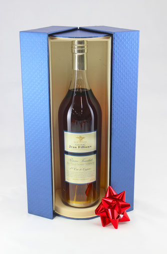 Jean Fillioux Reserve Familiale Cognac Grande Champagne is a 50 year old delight from one of the oldest and highest ranked Cognac houses - Rare & Exceptional Spirit Gift Ideas - HeavenlySpirits