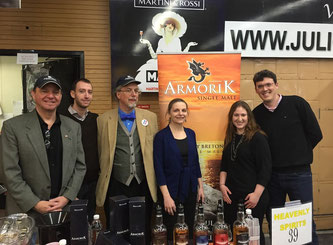Armorik French Whisky at Julio's Liquors Whisky Weekend 2015