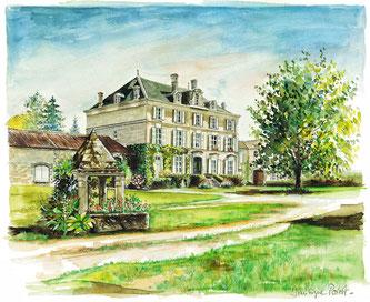 Jean Fillioux Cognac estate La Pouyade