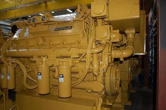 θαλάσσιων κινητήρων στην Ελλάδα CAT 3412 DI-TA Caterpillar